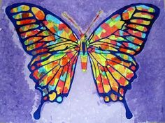 Art Projects for Kids: Butterflies from Chile
