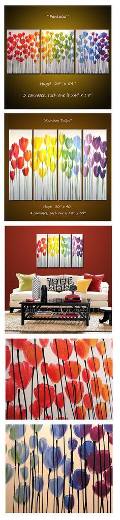Dise os para pintar cuadros f ciles de flores im genes for Cuadros de decoracion baratos