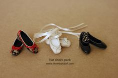 flat shoes pack