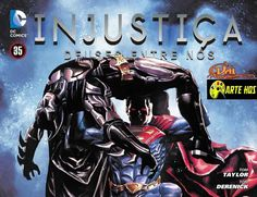 HQBR - Injustice - Gods Among Us - Capitulo #35