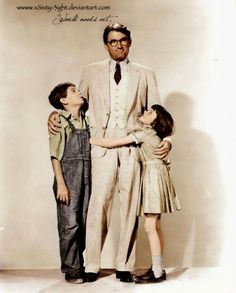 I Love Books, Great Books, Classic Hollywood, Old Hollywood, Garry Cooper, Mary Badham, Atticus Finch, Gregory Peck, Harper Lee