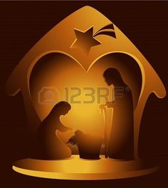 Christmas decoration with Holy Family. Christmas Nativity Scene, Christmas Crafts, Christmas Decorations, Nativity Scenes, Scene Image, Scene Photo, Birth Of Jesus Christ, Christmas Landscape, Summer Banner