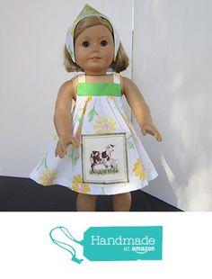 4H Farmgirl Mama & Baby Goat Sundress + Reversible Head Scarf fits American Girl from Pawprint Pals https://www.amazon.com/dp/B01J4WNDNA/ref=hnd_sw_r_pi_dp_5d8MybASJSQ3K #handmadeatamazon