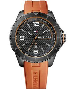 ΤOMMY HILFIGER Ash Orange Rubber Strap Η τιμή μας: 131€ http://www.oroloi.gr/product_info.php?products_id=37572