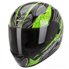 Scorpion EXO-410 AIR (Rad) Green - Scorpionhelmets.se
