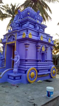 Temple India, Home Temple, Hindu Temple, Temple Drawing, Indian Temple Architecture, Wedding Stage Design, Lord Balaji, Architectural Sculpture, Temple Design