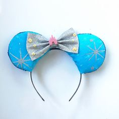 Disney Castle Inspired Ears Disneyland by ToNeverNeverland on Etsy