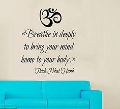 Yoga Symbol Sticker Vinyl Decal Namaste Fitness Workout Meditation V32
