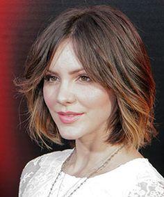 katharine mcphee short brown hair - Google Search