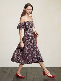 Oh, don't mind me I'm just the drapes. The Portofino Dress. https://www.thereformation.com/products/portofino-dress-dickens?utm_source=pinterest&utm_medium=organic&utm_campaign=PinterestOwnedPins