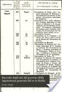 Raccolta degli atti del governo della lugotenenza generale del re in Sicilia