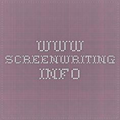 www.screenwriting.info