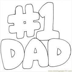 dad coloring pages - Google Search #kidswoodcrafts