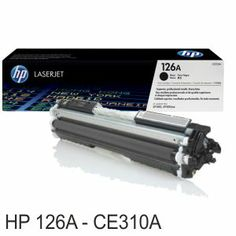 HP CE310A, toner original 126A BK, 1200 Pags. CP1025NWhttp://www.selfpaper.com/html/hp-ce310a-toner-original-126a-bk-cp1025-g.html