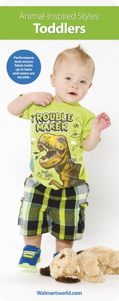 We'll show you how to find the perfect animal-inspired outfit for your baby or toddler. #fashion #style #kids #wearwalmart