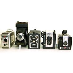 Vintage Camera Set I, $240, now featured on Fab.
