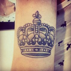 Love the fdl on top! Family Tattoos, Couple Tattoos, Love Tattoos, Tattoo You, Arm Tattoo, Body Art Tattoos, New Tattoos, Tatoos, King Crown Tattoo