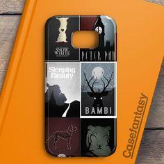 Minimalist Disney Film Posters Samsung Galaxy S6 Edge Plus Case | casefantasy