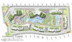Kuzu Grup : Spradon Vadi vaziyet planı - Toplu Konut Projeleri