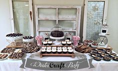 Chalkboard craft party