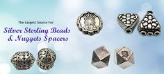 Are you ready to shine with beautiful #Sterling #silver #beads then no need to go anywhere, you can contact #Dhruv silver. We provide charming sterling silver beads at #wholesale prices.