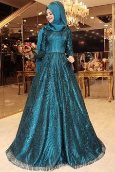 Evening Dress Pnr207PTL Muslim Fashion, Hijab Fashion, Evening Dresses, Formal Dresses, Wedding Dresses, Hijab Gown, Muslim Girls, The Dress, Dress Skirt