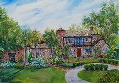 Stuart Jones Art.....Casa Feliz, Winter Park