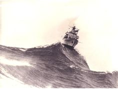 HMAS Vidal, Big Swell. 1940 ~ I normally only post USS but this is a magnificent photo.