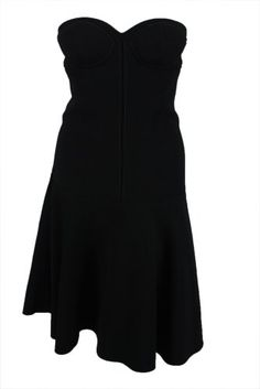 Proenza Schouler Womens Black Bustier Drop A-line Straple... , prom dress, what prom dress to buy