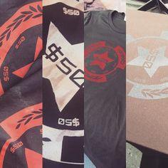 Decision time... #screenprinting #tshirt #fashion #custom #limitededition #specialedition @bellacanvas @flefclub