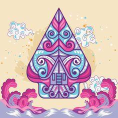 Super Wall Paper Design Backgrounds Arts And Crafts Ideas Banner Design Inspiration, Indonesian Art, Tsumtsum, Life Drawing, Drawing Drawing, Preschool Art, Mural Art, Cute Wallpapers, Paper Design