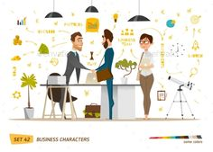 Business Characters Scene - Concepts Business Download here :http://graphicriver.net/item/business-characters-scene/16146997?s_rank=261&ref=Al-fatih