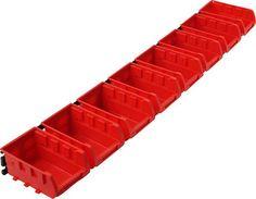 Trademark - Trademark Tools 8-Bin Wall-Mount Parts Rack