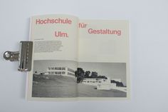 HfG Ulm is a hand-bound publication inspired by the Lars Müller A5 series. This book is a celebration of the ethos, teachings and products designed at the Hochschule für Gestaltung Ulm, and the legacy that the school and its occupants left behind.The pub…