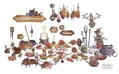 la magia de la animación: Tangled- Enredados: Estudio detallado de escenarios