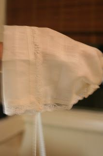 Magic Hanky   i'm just a little hanky. As square as can be, But with a little stitch or two, They made a bonnet out of me.  I'll be worn fro...
