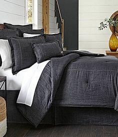 Cremieux Cotton Denim Comforter #Dillards
