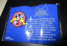 Walt Disney World Cast Member Exclusive Pin Trading Traditions Pin 04