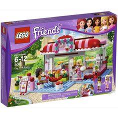 Lego Friends Andrea & Marie CITY PARK CAFE Play Set #3061 NEW Sealed Box #LEGO