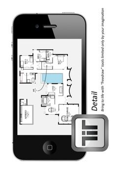 Travelling to work on the train and have an idea for a room or house layout. No problem. Pull out your phone and capture the idea right there and then. Great Apps, House Layouts, Architects, Travelling, Train, Iphone, Room, Life, Bedroom