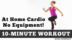 10 Minute Ultra Cardio at Home!