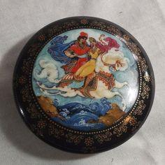 "Ardleigh Elliott & Sons Russian Fairytale Music Box ""The Princess & Elisey"" | eBay"