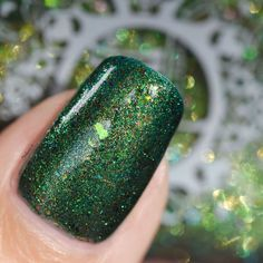 Spell Polish is a boutique/indie nail lacquer with a luxurious formula of glitters, micas and pigments- MINUS the toxins! Spell yourself well! Spelling, Swatch, Woods, Finger, Nail Polish, Nail Art, Nails, Beautiful, Finger Nails