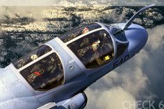 Navy version of cubicles.  EA-6B Prowler by George Hall