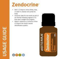 doTERRA Zendocrine Usage Guide