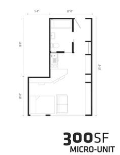 Could you live in 300 sq ft? This home has innovative storage space. Check out the design here. Micro-housing Unit Could Change the Boston Real Estate Market