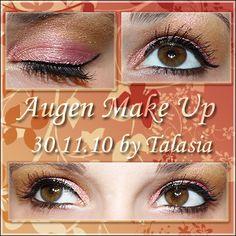 Eye Make Up - Datum: 30.11.10  http://talasia.blogspot.de/2011/01/amu-mac-rose-pink-bronze.html