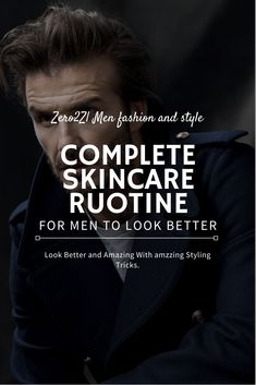FasHionHuNt: Complete Skin Care Routine for Men Shaving Your Head, Signs Of Stress, Lighten Skin, Uneven Skin Tone, Skin Care, Men's Grooming, Skincare Routine, Pimples, Beauty Skin
