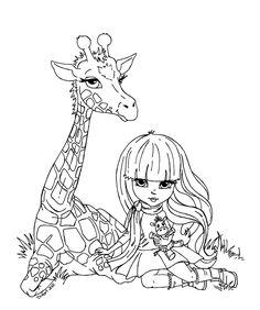 Giraffe by JadeDragonne.deviantart.com on @deviantART