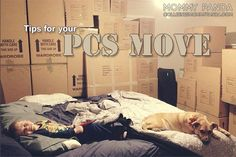 Tips for an Easy PCS Move (Part 3)